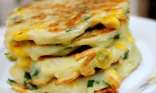 玉米土豆丝小煎饼的做法