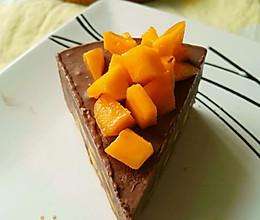 巧克力芒果冰激凌蛋糕#豆果5周年#的做法