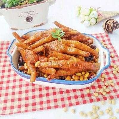 黄豆焖鸡爪