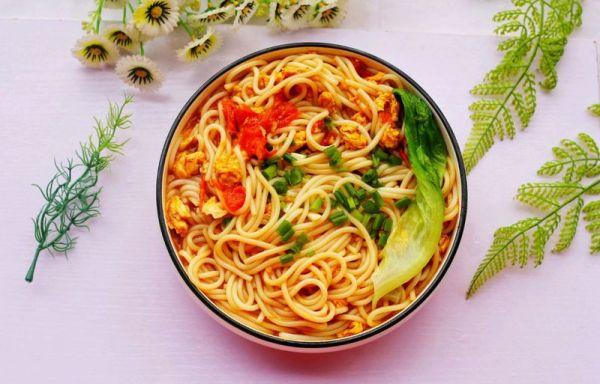 超好吃的番茄鸡蛋米粉的做法