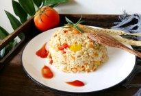 #秋天怎么吃#虾仁时蔬炒饭的做法