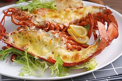 厨艺小白也能做好的海鲜美味——芝士焗波士顿龙虾【