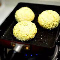 减脂美食豆腐汉堡#德国miji爱心菜#的做法图解5