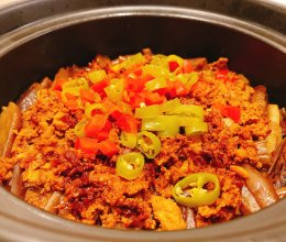让你舔锅的老豆腐茄子煲的做法