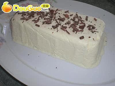 白巧克力冻糕的做法