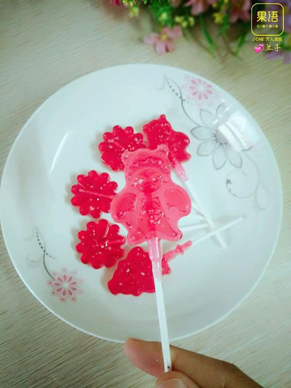 棒棒糖的做法