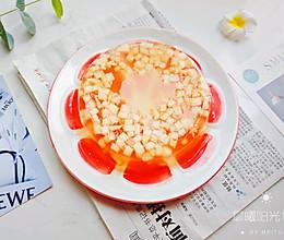 自制Q弹红糖味儿的蜜桃果冻的做法