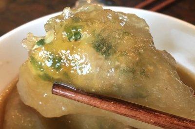 Q弹薯粉水晶饺