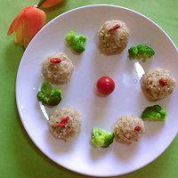 #我们约饭吧#珍珠丸子的做法图解4
