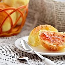 淡奶油小餐包#有颜值的实力派#
