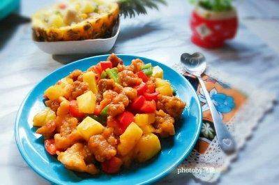 广东菠萝咕噜肉