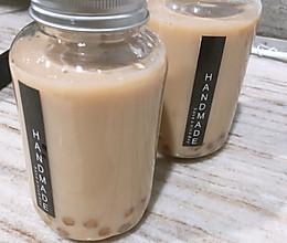 低糖版家庭焦糖珍珠奶茶的做法