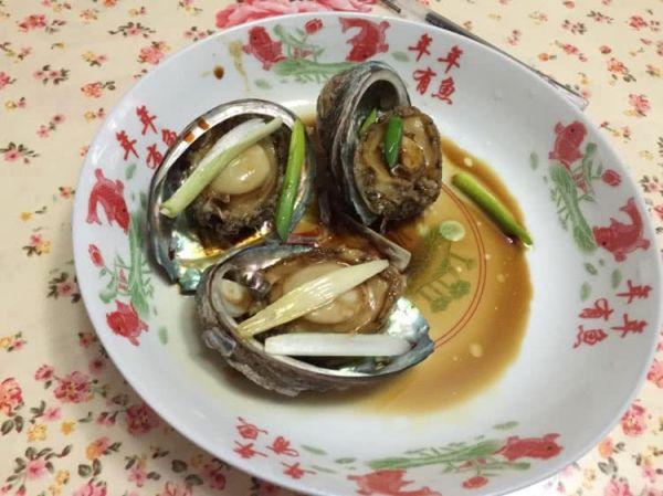 葱油鲍鱼的做法