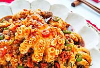 #憋在家里吃什么#酱爆小章鱼 不可多得的美味的做法