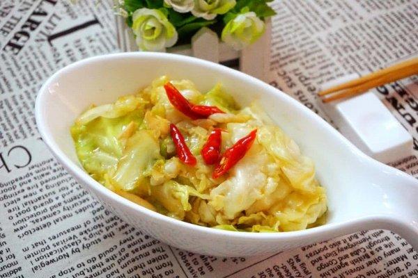 超级下饭的一道家常菜:醋溜手撕包菜的做法