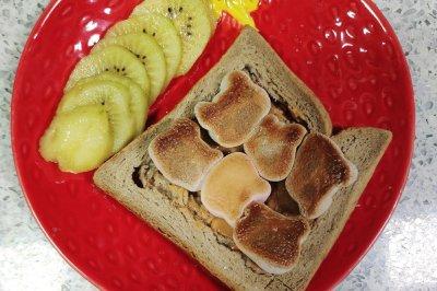 3分钟做成好吃高颜值的快手早餐