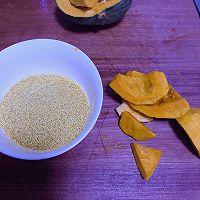 南瓜小米绵粥的做法图解1