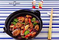 干锅肥肠#初夏搜食#的做法