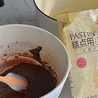 巧克力脆皮蛋糕卷的做法图解2