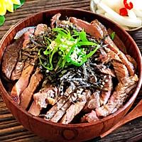 简单快速的日式牛排丼(盖饭)的做法图解12