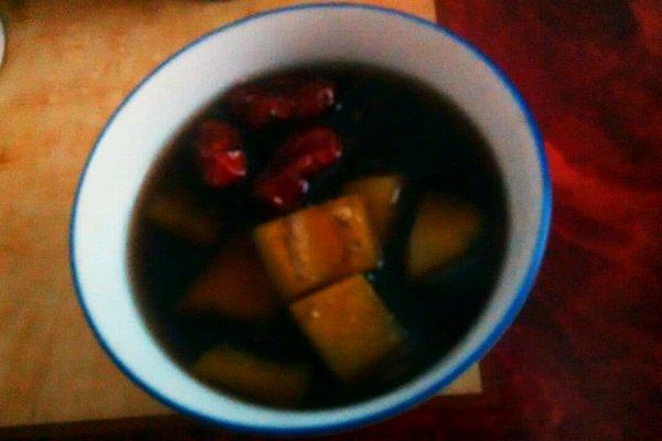 黑豆木瓜糖水的做法