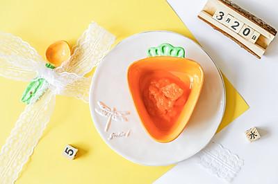 辅食日志 | 胡萝卜泥米糊