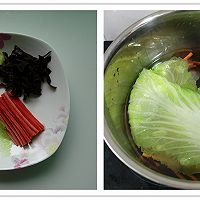 糖醋白菜卷的做法图解3