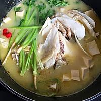 花鲢鱼头炖豆腐的做法图解1