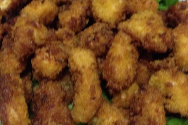 炸鸡块(鸡米花)的做法