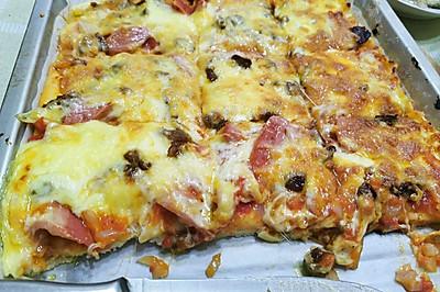 家庭版美味披萨