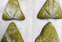 抹茶蜜豆麻薯软欧包的做法