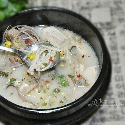 改良版 韩国—牛骨蔬菌汤