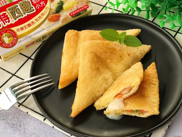 下午茶 奶油虾仁酥盒