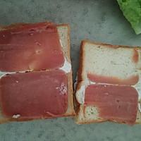 微波炉版无油三明治的做法图解7
