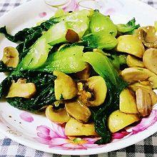 清香口菇白菜