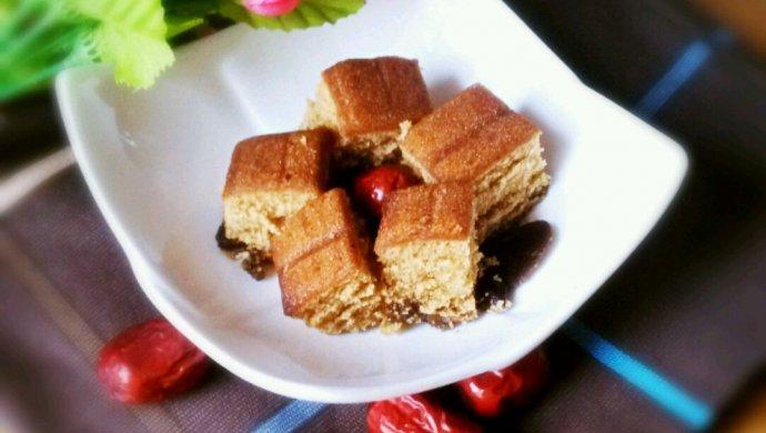 甜甜蜜蜜的红枣蛋糕