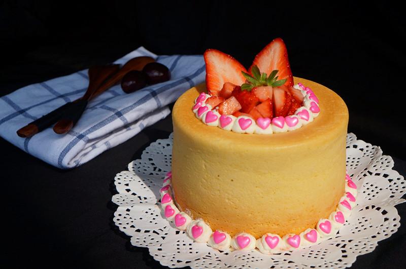 草莓奶油蛋糕杯#豆果5周年图片