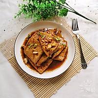 香煎老豆腐的做法图解9