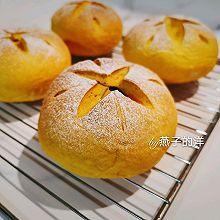 【甜】开花的南瓜蜜豆欧包