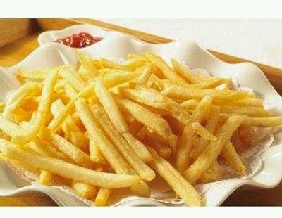 薯条的手工制作图片