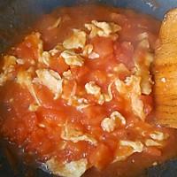 大喜大牛肉粉试用之✘西红柿炒蛋盖饭的做法图解6