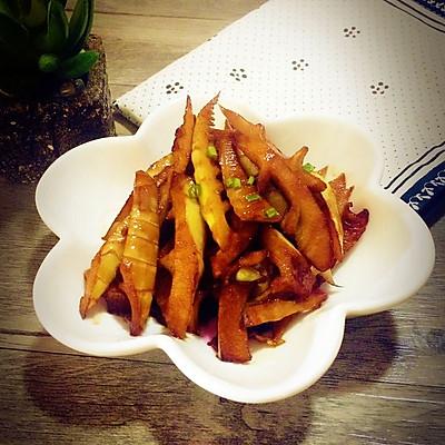 油焖春笋~快手菜