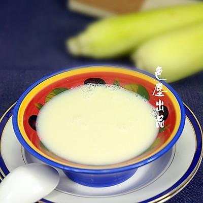玉米豆浆——完美蛋白质早餐饮品组合