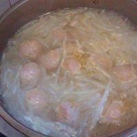 萝卜丝丸子汤的做法图解8