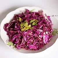 #菁选酱油试用之凉拌紫甘蓝