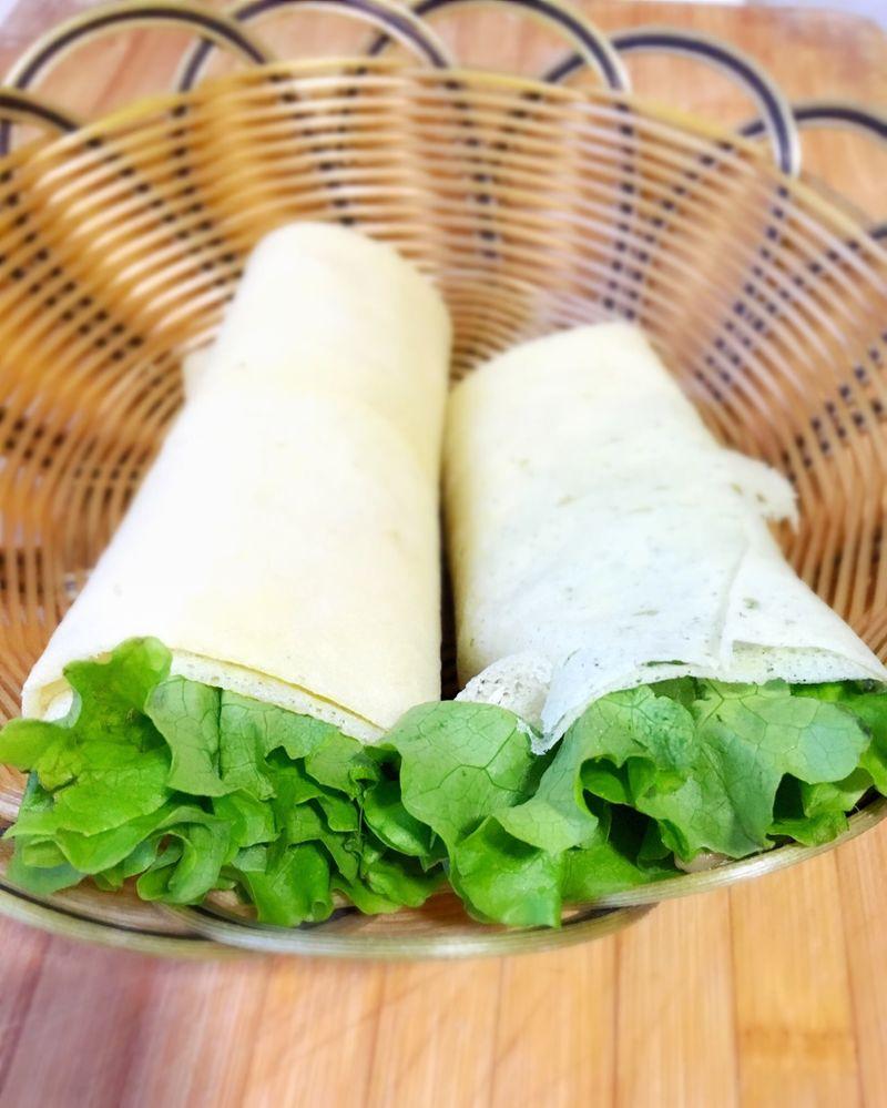 煎饼卷的做法_【图解】煎饼卷怎么做如何做好吃_煎饼