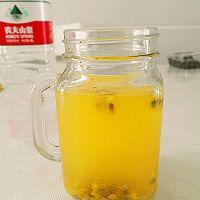 酸甜口~百香果蜂蜜天然饮的做法图解5