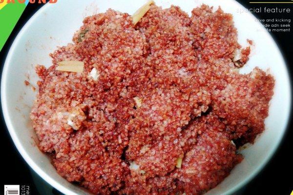 梅干菜粉蒸排骨——高压锅版简单到爆的做法
