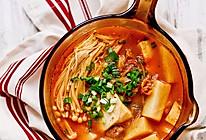 【泡菜汤】寒冬里香浓暖烘烘的辣汤是必备的做法