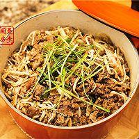 【曼步厨房】沙茶牛肉煲的做法图解10